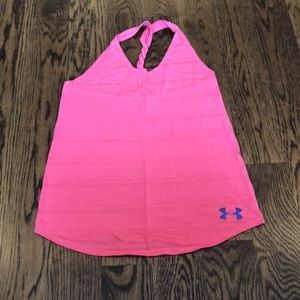 Under Armour workout tank with cool braided back